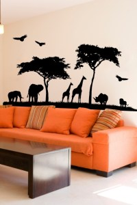 Grand Safari Wall Decal | African Safari Wall Sticker