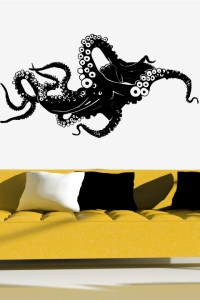 Wall Decals Octopus- WALLTAT.com Art Without Boundaries