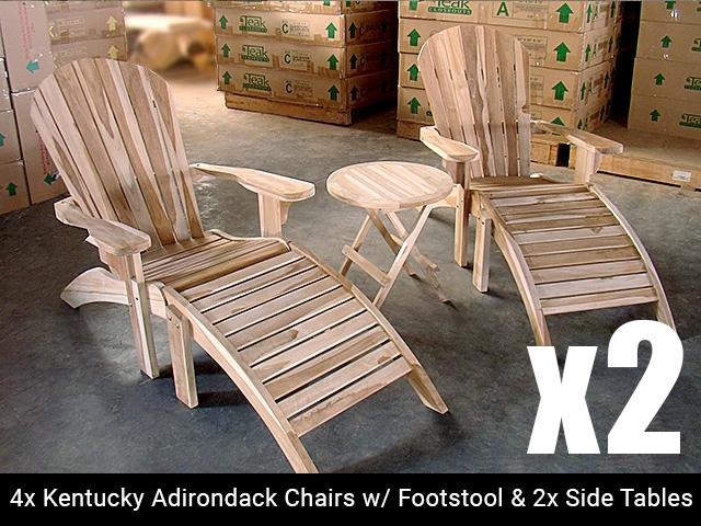adirondack chairs for sale scooter chair accessories teak combo