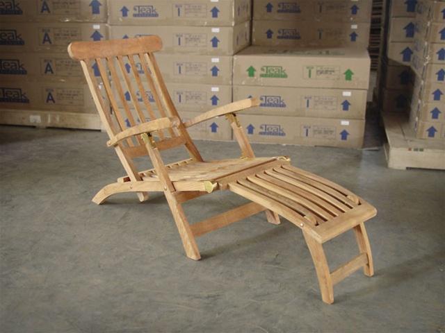 teak steamer chair x rocker desk ocean deck
