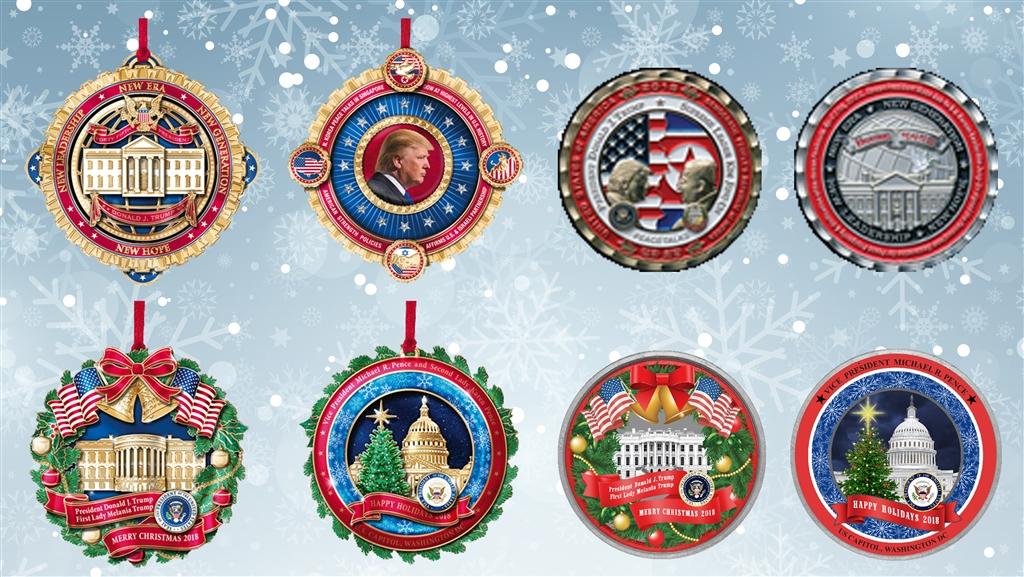 White House Christmas Ornament 2018
