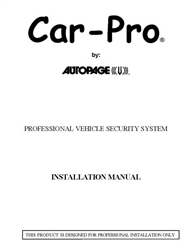 code alarm ca1051 wiring diagram automatic network software free owners and installation guides car pro cpx 2650 manual