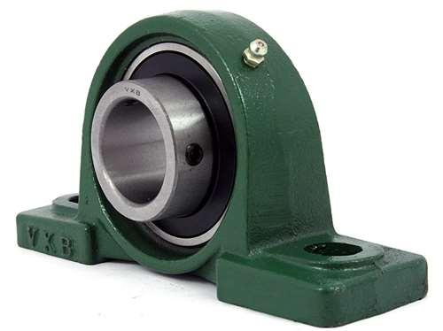 25mm bearing ucp205 pillow block cast housing mounted bearings