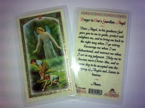 holy prayer cards for