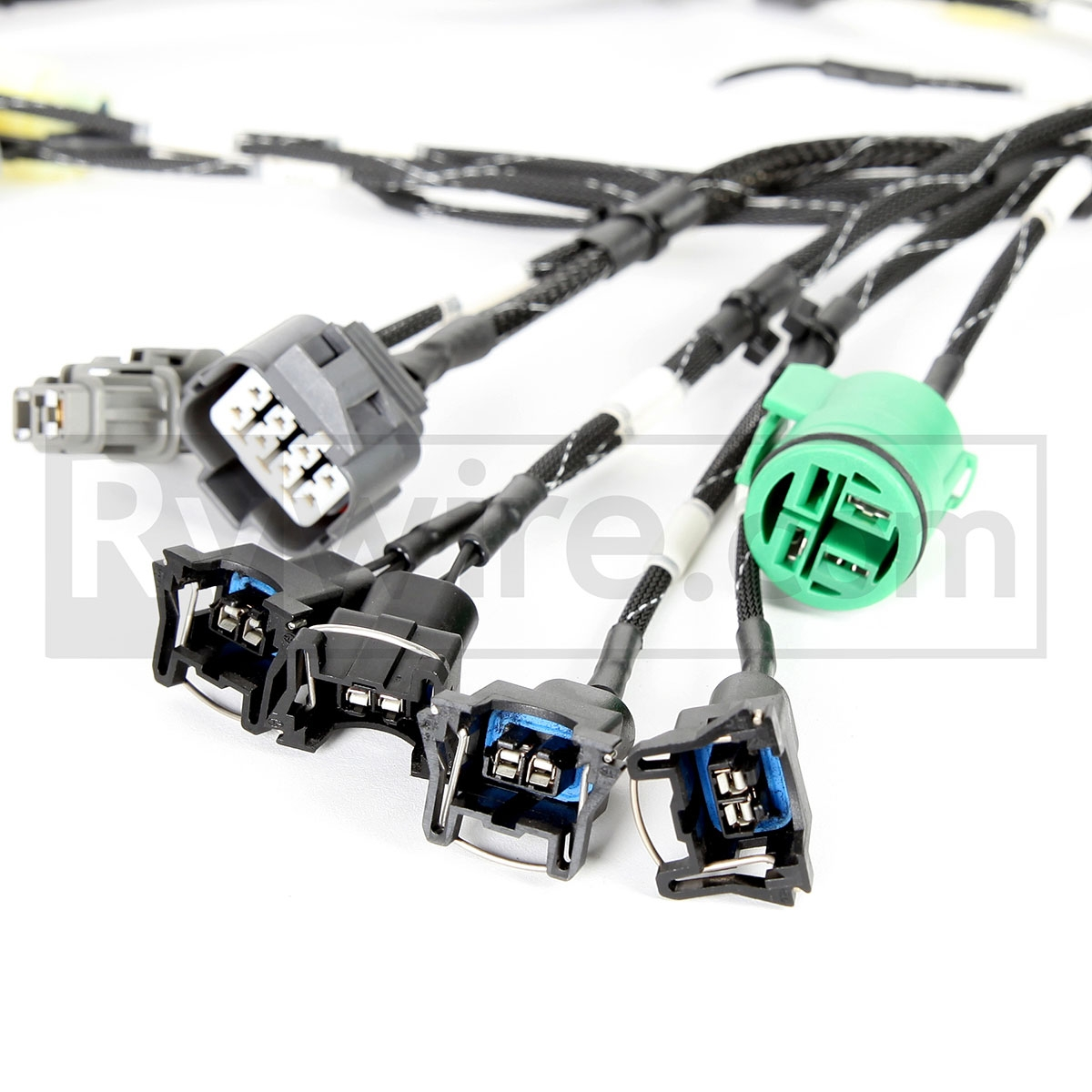 medium resolution of rywire com budget d b series tucked engine harness 94 honda civic wiring harness 94 civic wiring harness