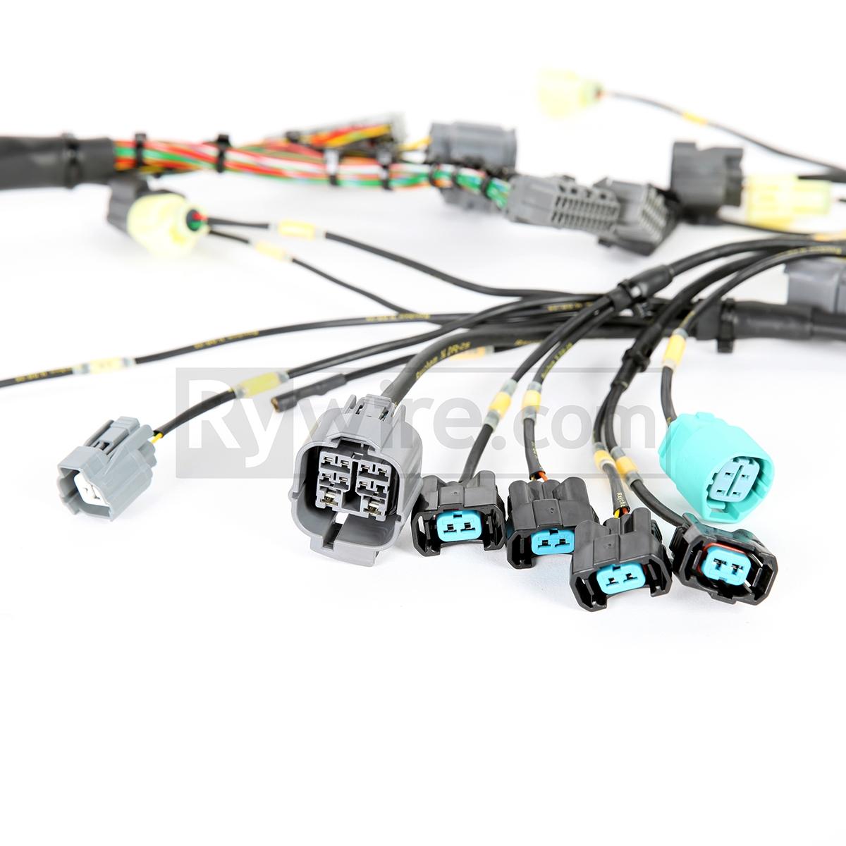 obd2 mil spec d b series tucked engine harness obd2a honda wiring harness [ 1200 x 1200 Pixel ]