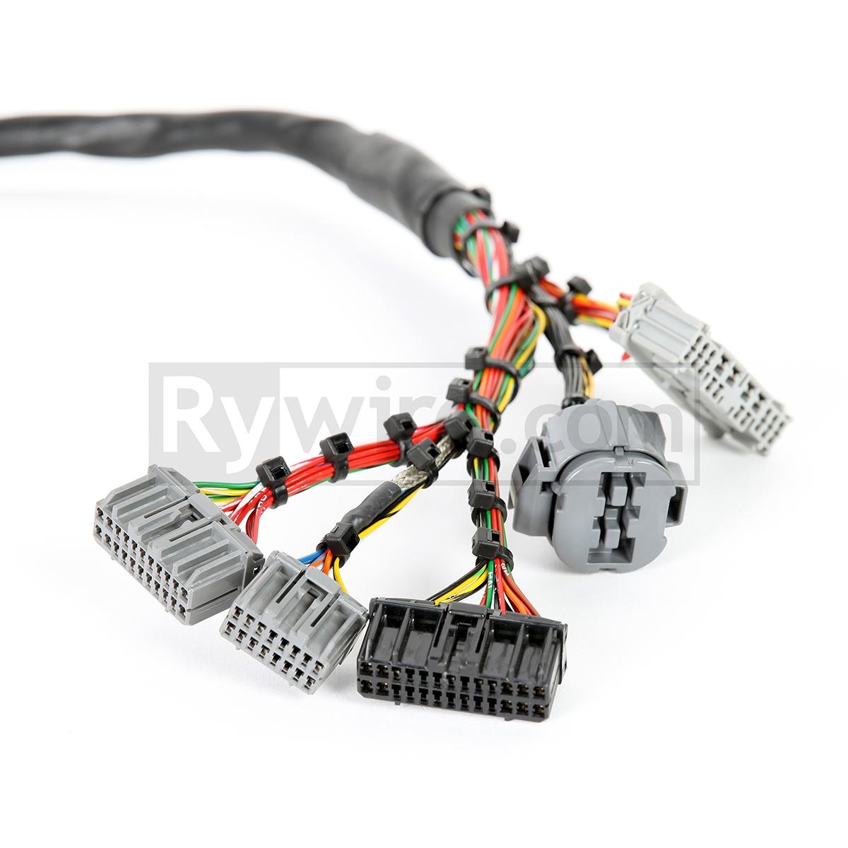medium resolution of obd2 mil spec d b series tucked engine harness obd2 gsr wiring harness obd2 wiring harness