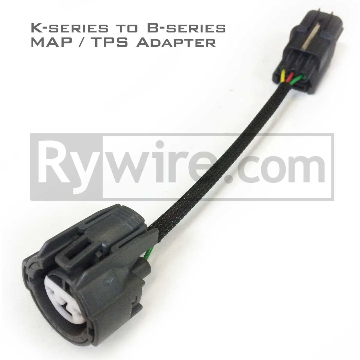 hight resolution of k to b tps map sensor adapter