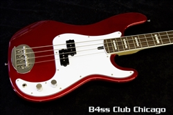 p bass body dimensions leviton switches installation diagram lakland at club chicago we have a huge inventory of skyline 44 64 custom candy apple red matching headstock