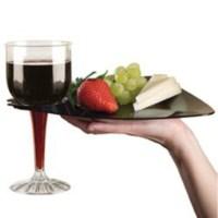 EMI-Yoshi EMI-TRBP9 Disposable Plastic Triangle Dinner ...
