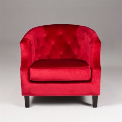 Red Velvet Sofa Furniture Slipcovers Big Lots Accent Chair