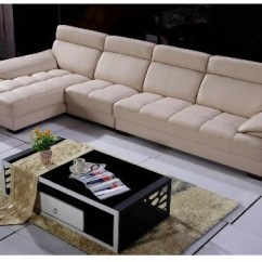 Sofa W Chaise Narrow Corner Sofas Sectional With Leather L Shaped Seriena 3 Piece Beige Sectionals Lounge