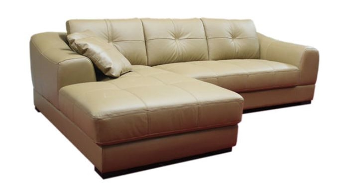 seriena w series l shaped sectional sofa with loveseat and chase lounge in brown beige white top grain leather