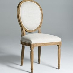 Round Dining Chairs Kitchen Bar Back Natural Wood Legs Chair Solid Seriena Luxury Linen