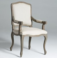 Square Back Dining Chairs Arm Chair | Natural Wood Legs ...
