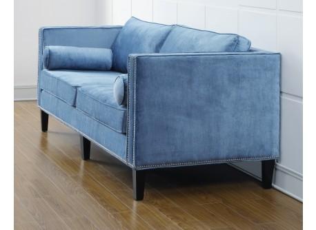 Velvet Sofas  Blue Velvet Upholstered Sofa  Urban