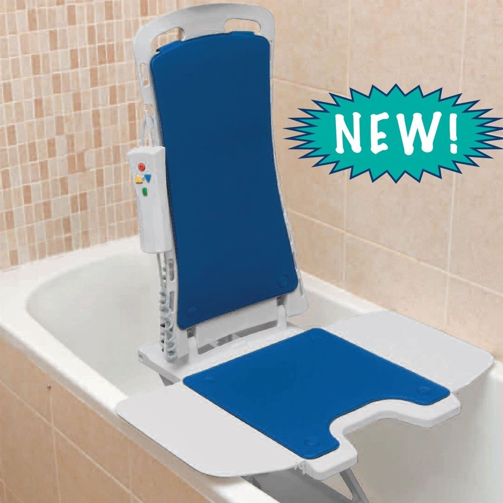 Bath Chair Lift Drive Medical 477150312 Whisper Automatic Bath Lift
