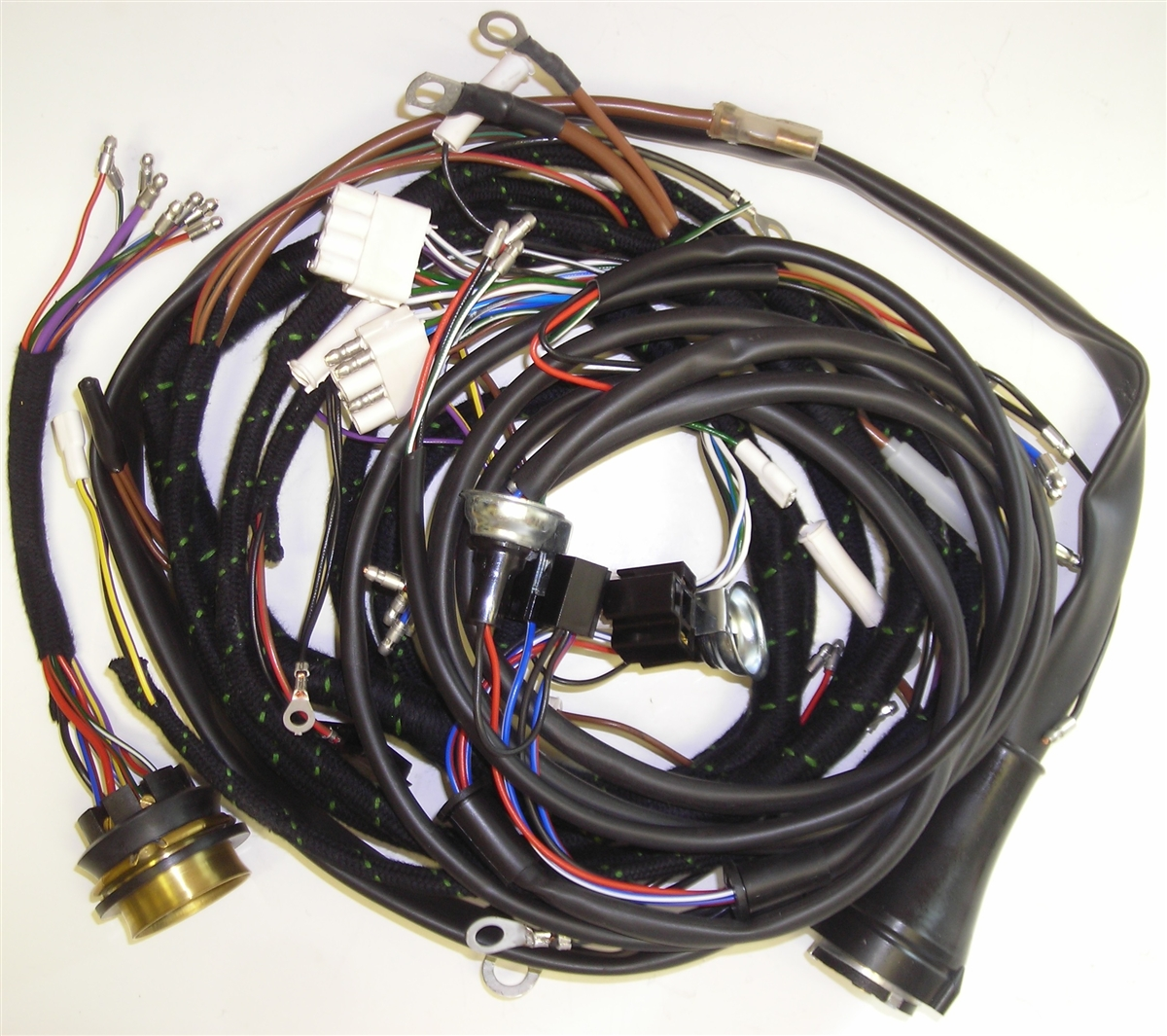 jaguar xke forward wiring harness jaguar e type wiring harness [ 1200 x 1065 Pixel ]