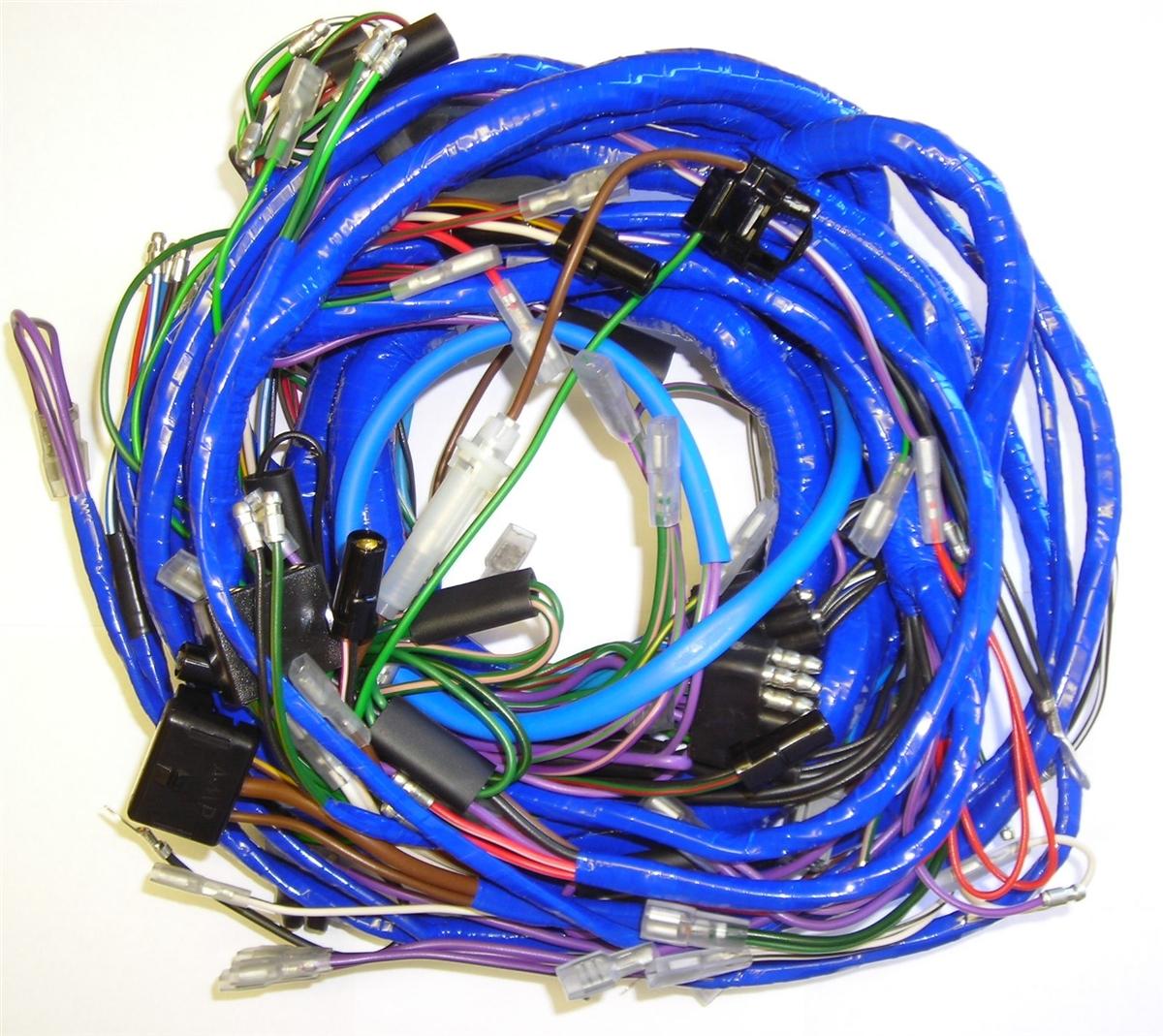 hight resolution of main wiring harness mg midget 1972 mg midget wiring harness mg midget wiring harness