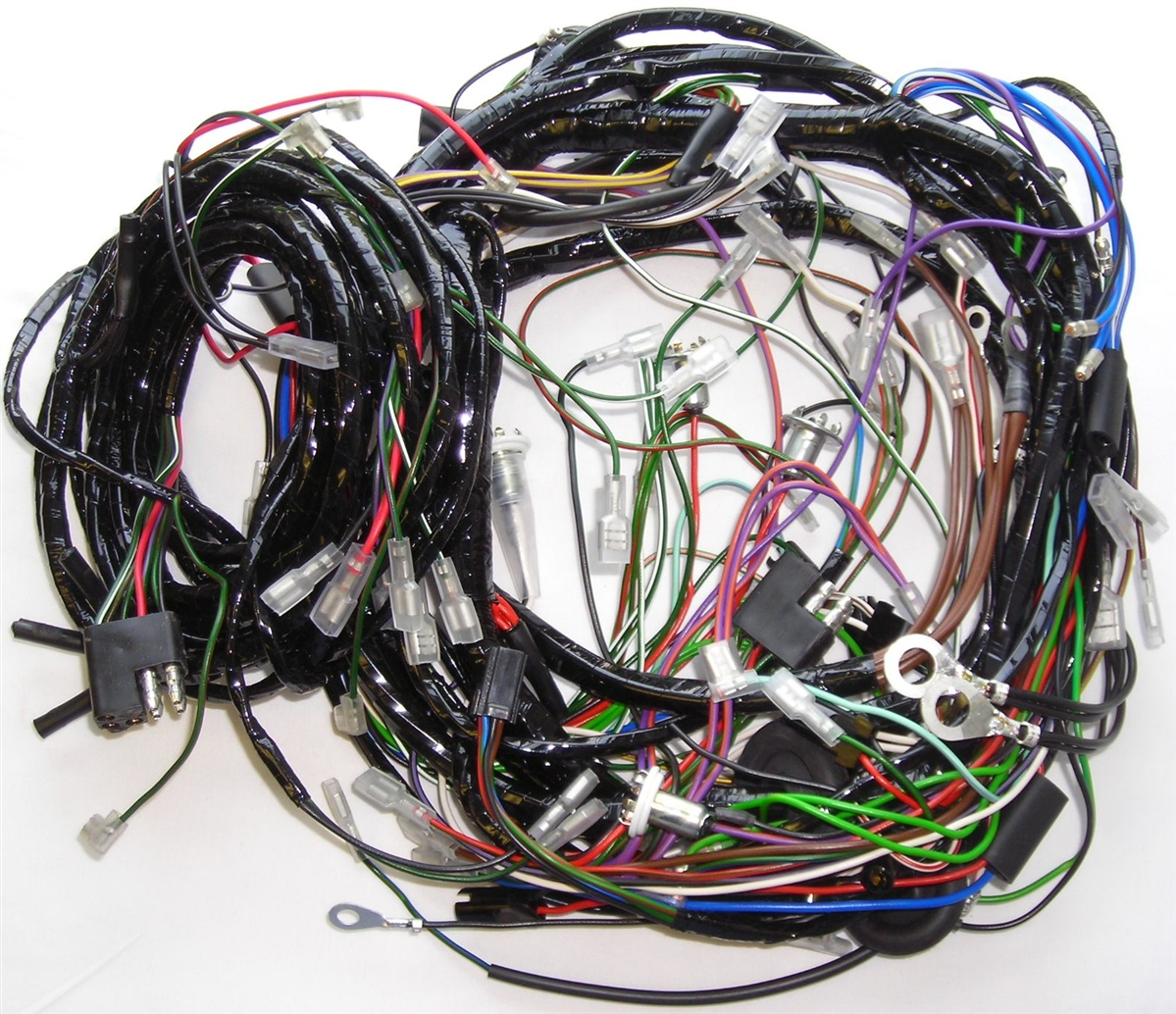 triumph spitfire wiring harness johnson outboard year model identification main and body harnesses mk 4