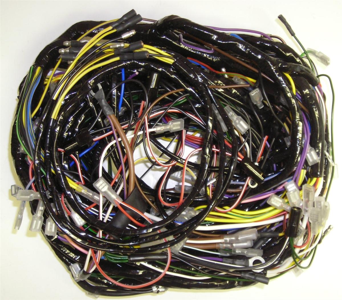 complete car wiring harnes [ 1200 x 1050 Pixel ]