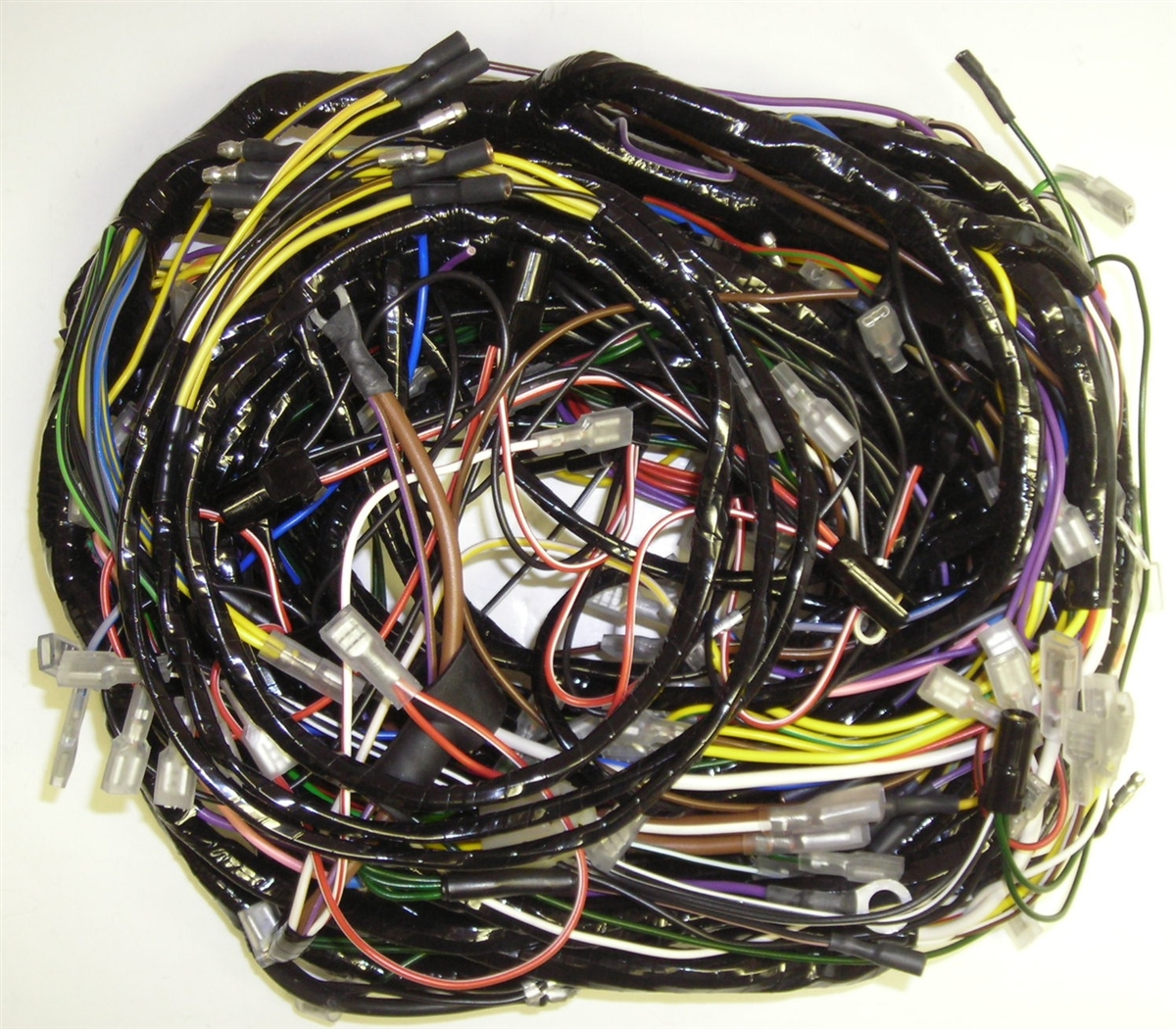 small resolution of complete car wiring harnes