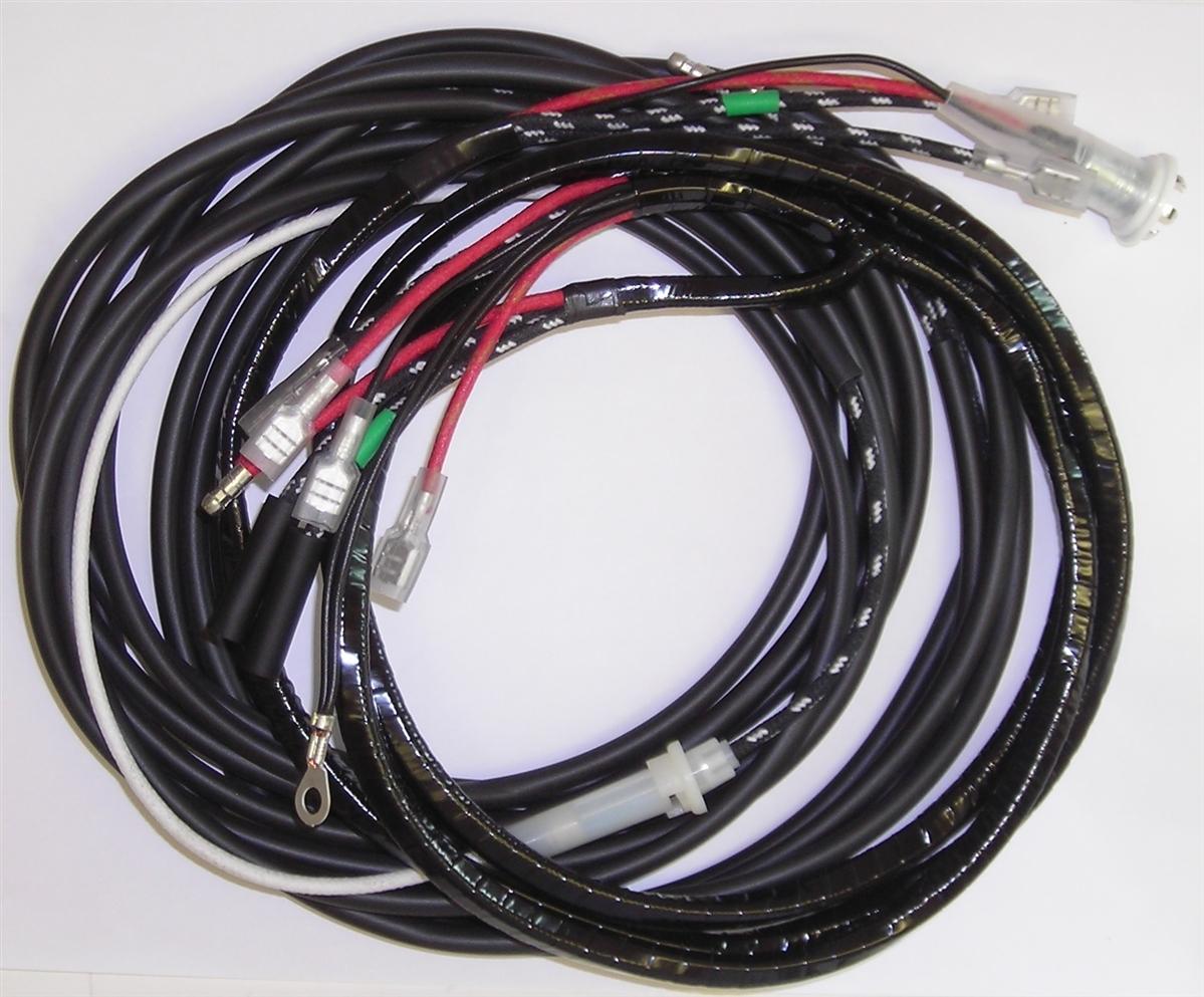 medium resolution of rear wiring harnes