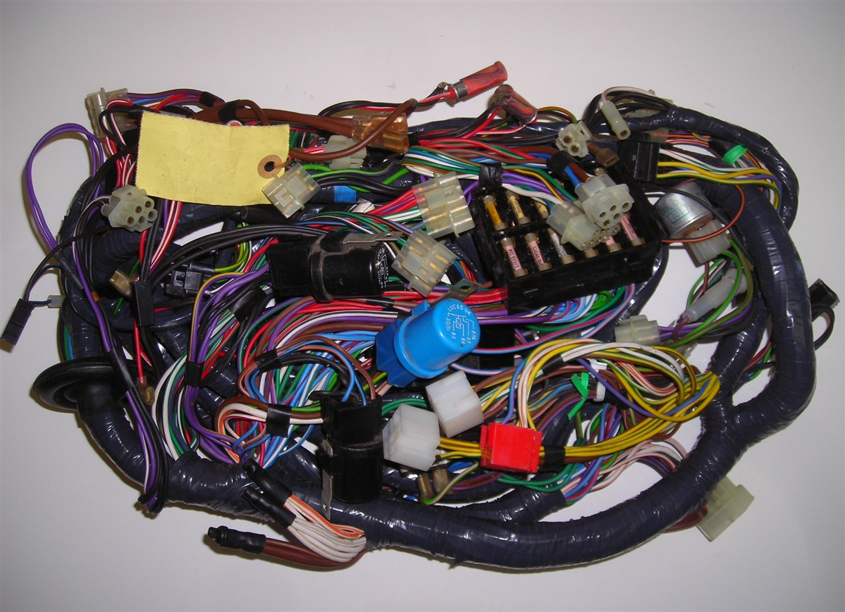hight resolution of triumph tr7 main wiring harness triumph tr8 wiring harness