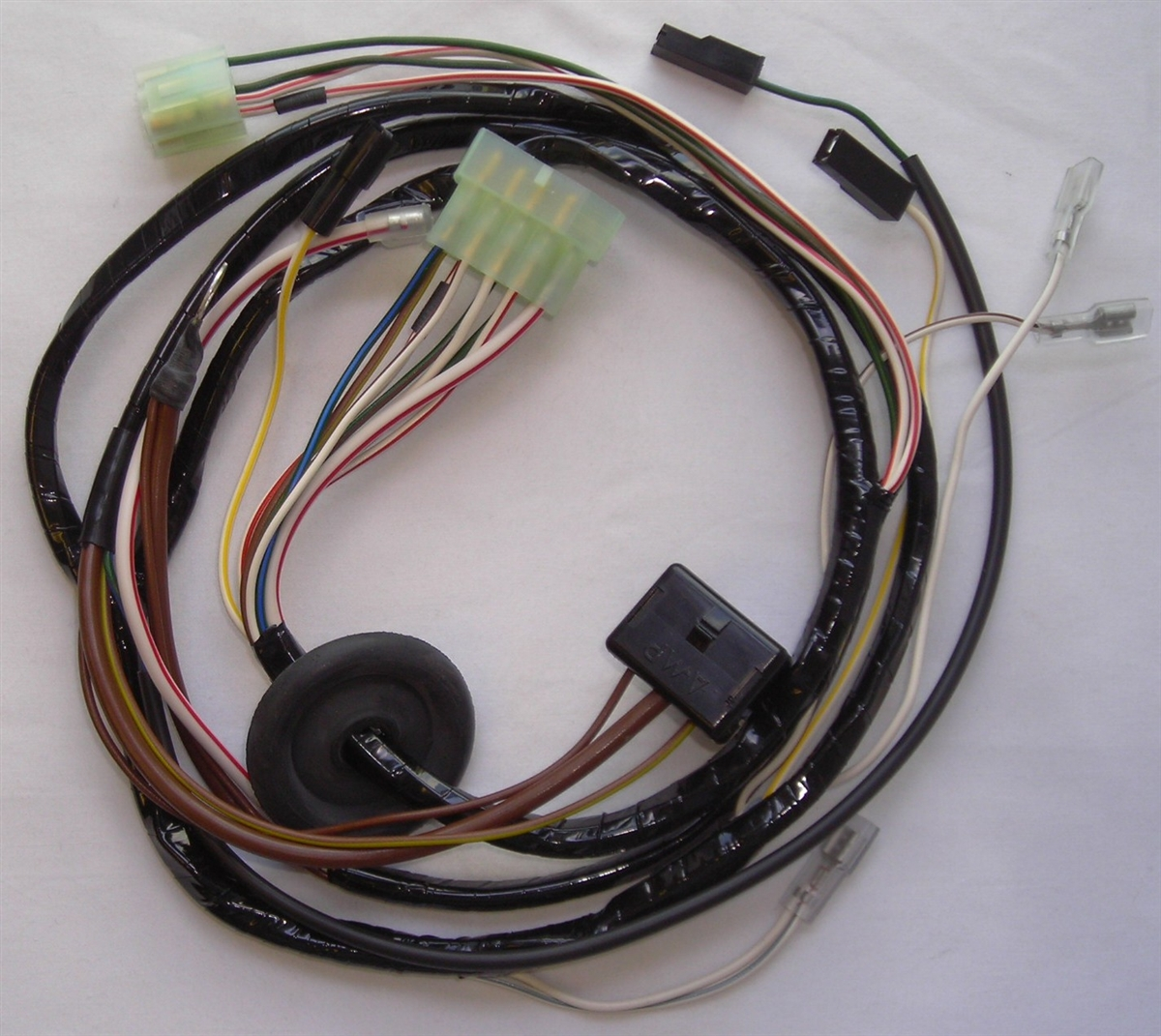 medium resolution of wiring harnes plastic