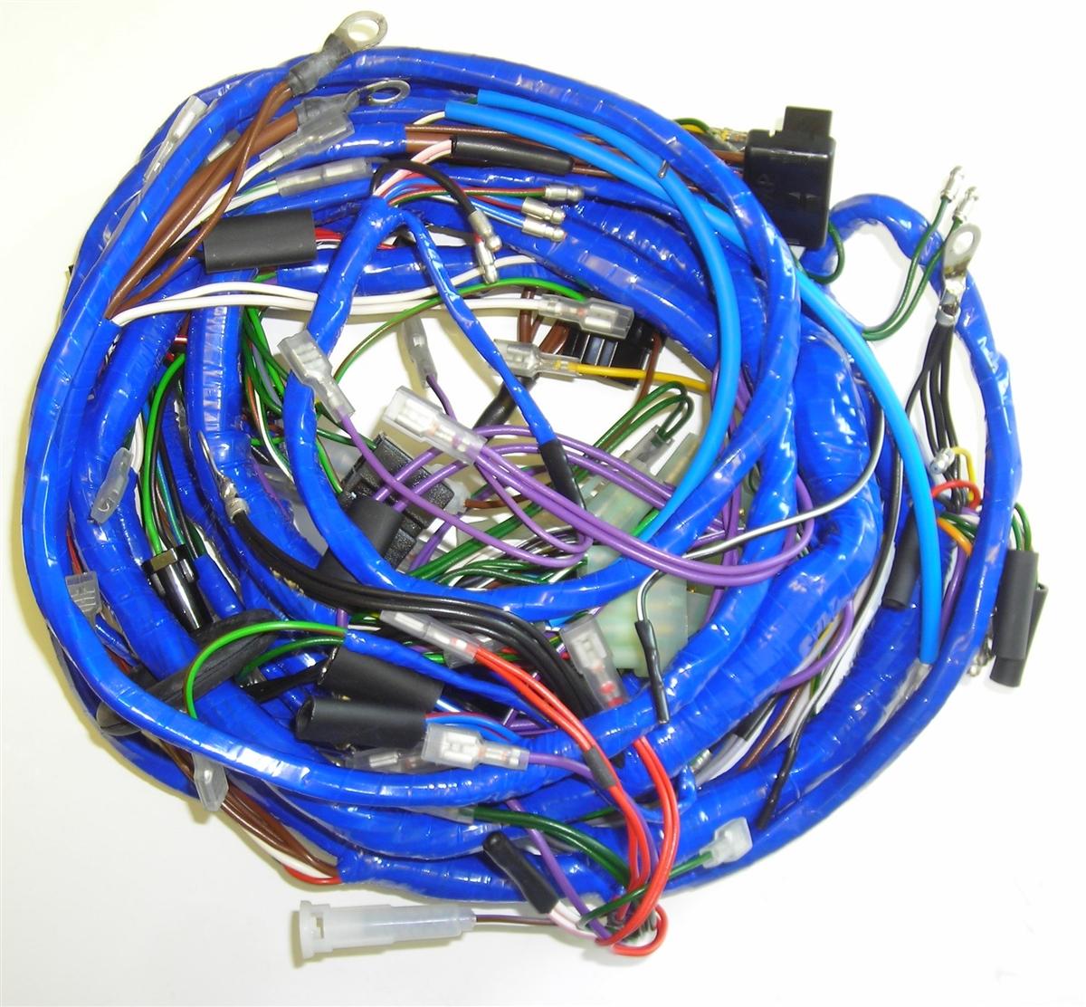 medium resolution of mgb 1974 main wiring harness 514 74 mgb wire harness