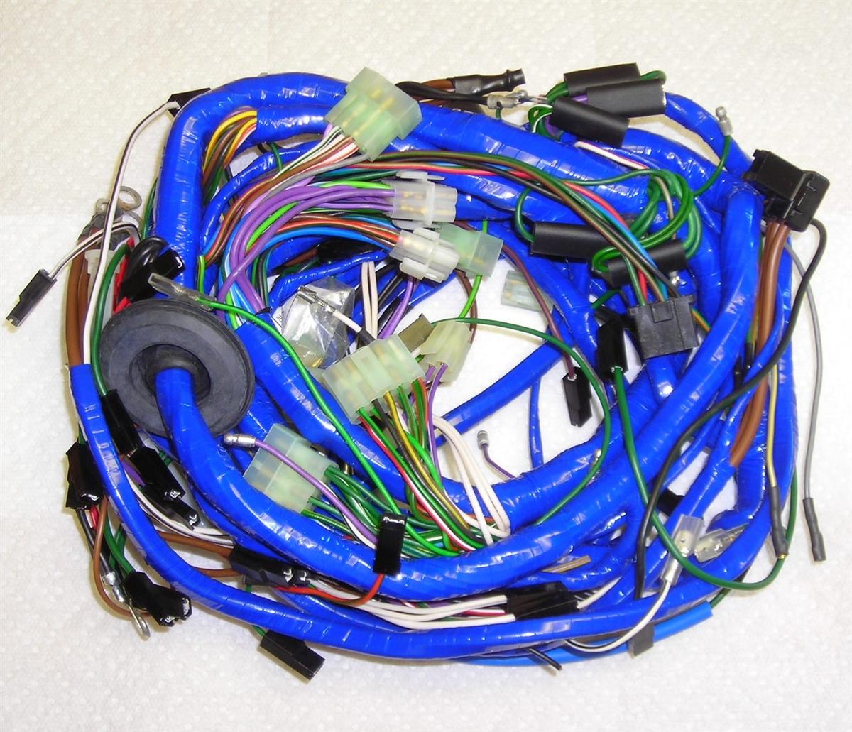 mgb 1980 main wiring harness 522