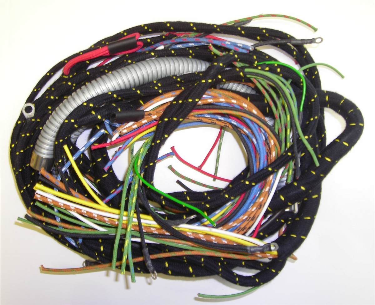 small resolution of mg tc main wiring harness 585bbc wiring harness 1949 16