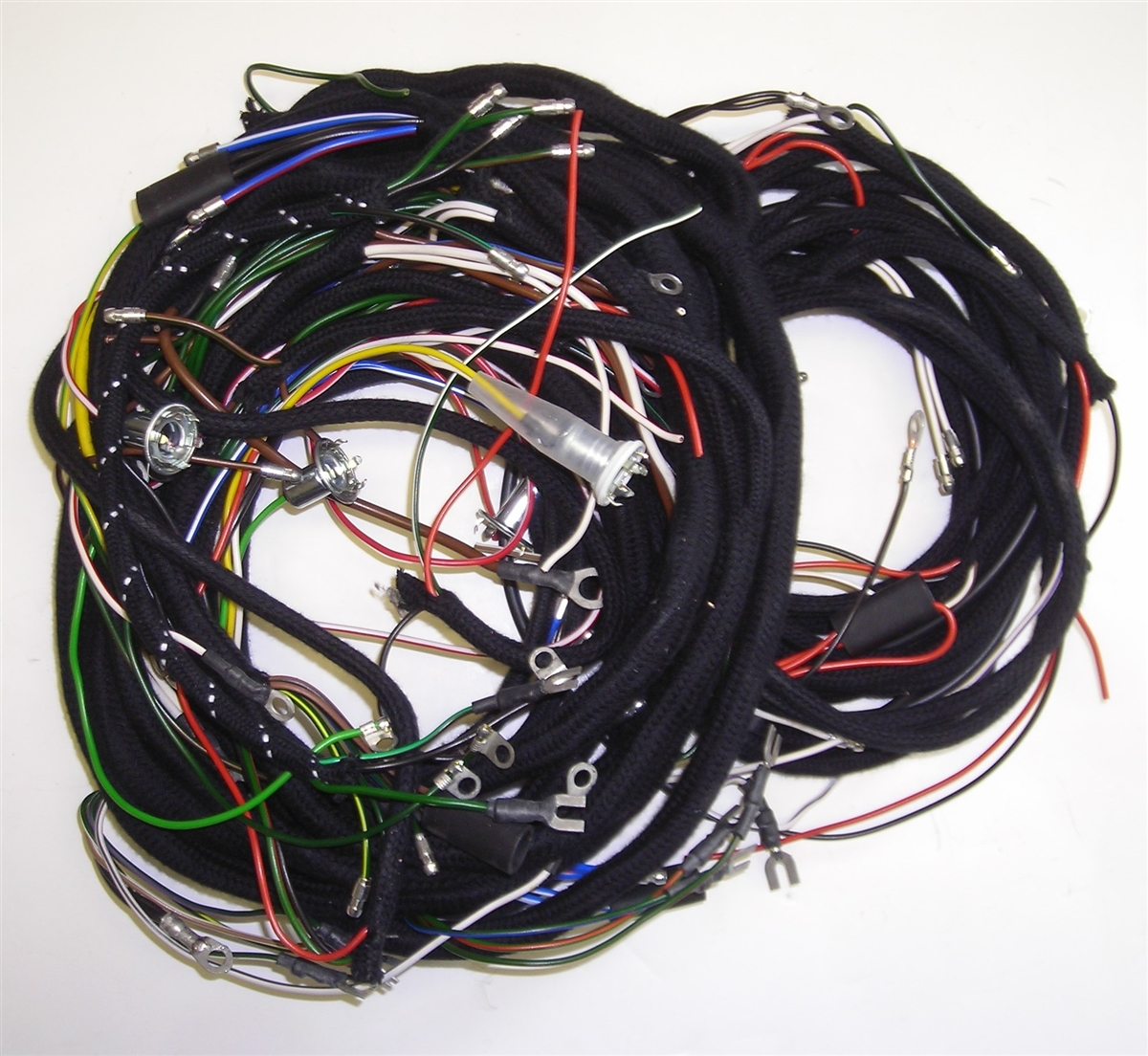 small resolution of austin healey bn6 1958 harness set pvc cable