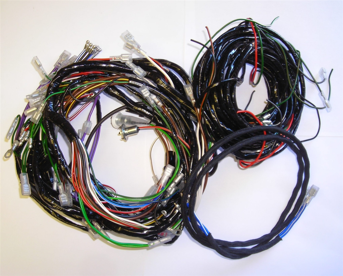 medium resolution of triumph spitfire main and body harnesses