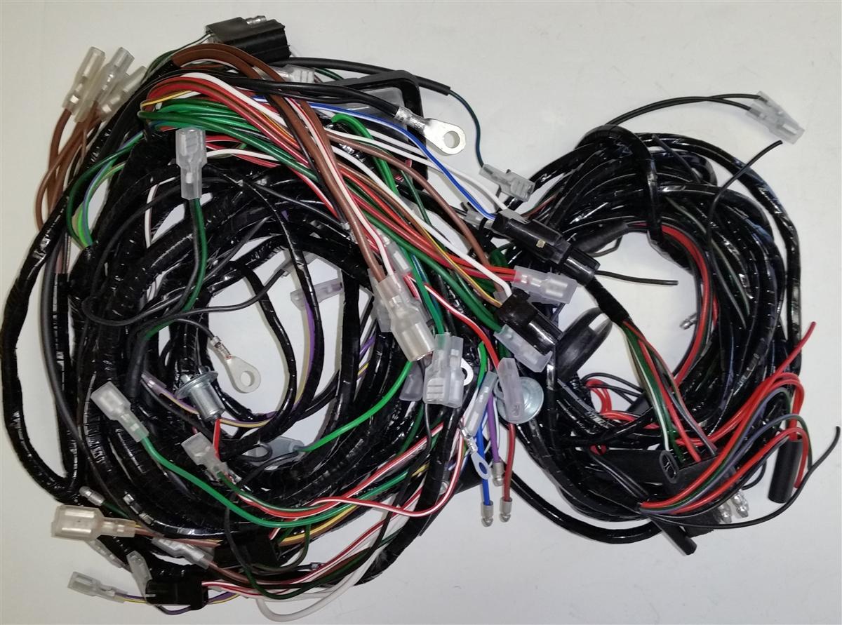 main u0026 body wiring harness triumph spitfire mk 3 mix triumph wiring harness 19 triumph wiring harness triumph t100  [ 1200 x 891 Pixel ]