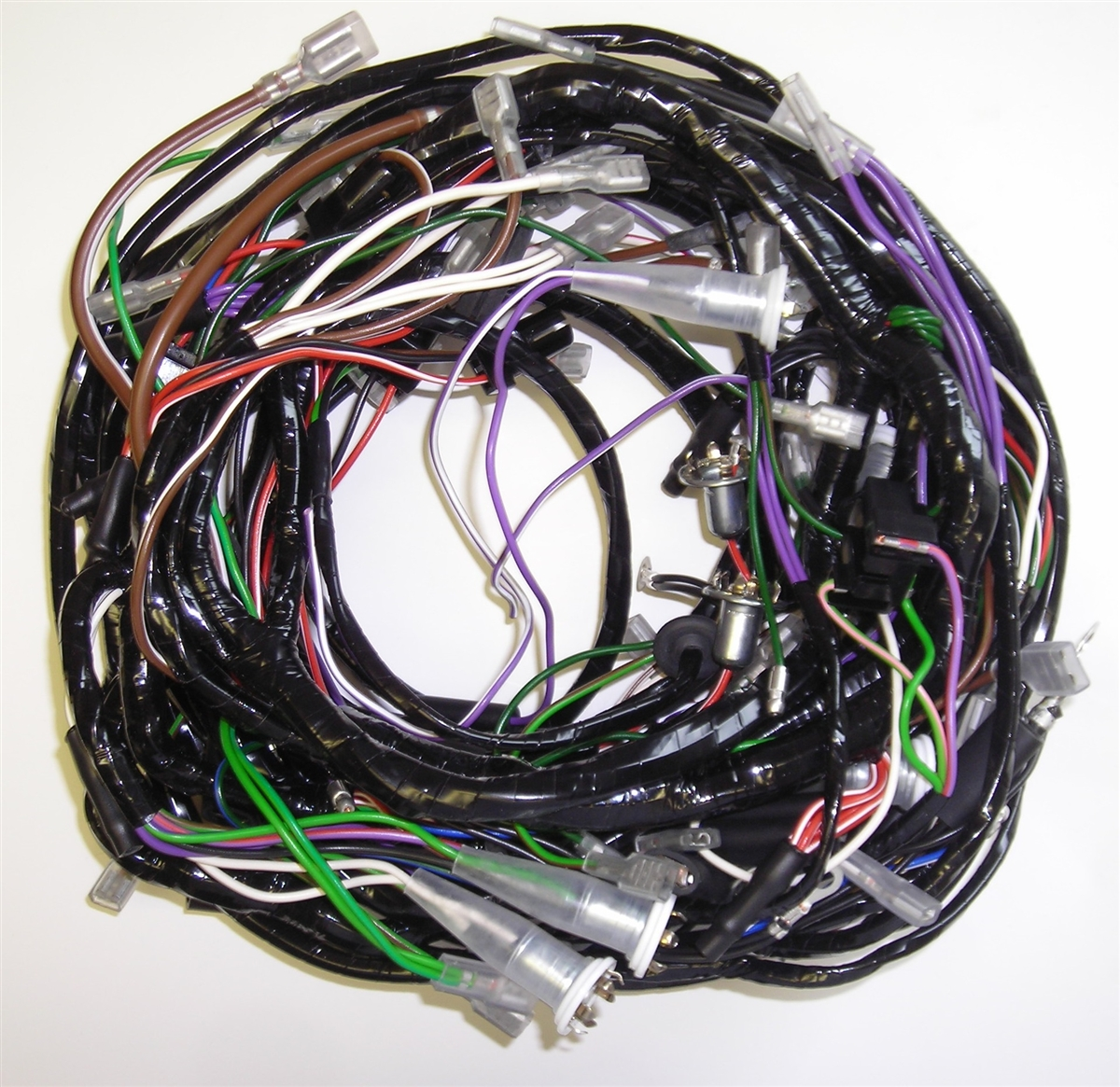hight resolution of main wiring harness triumph tr6 1969 triumph tr6 wiring harness
