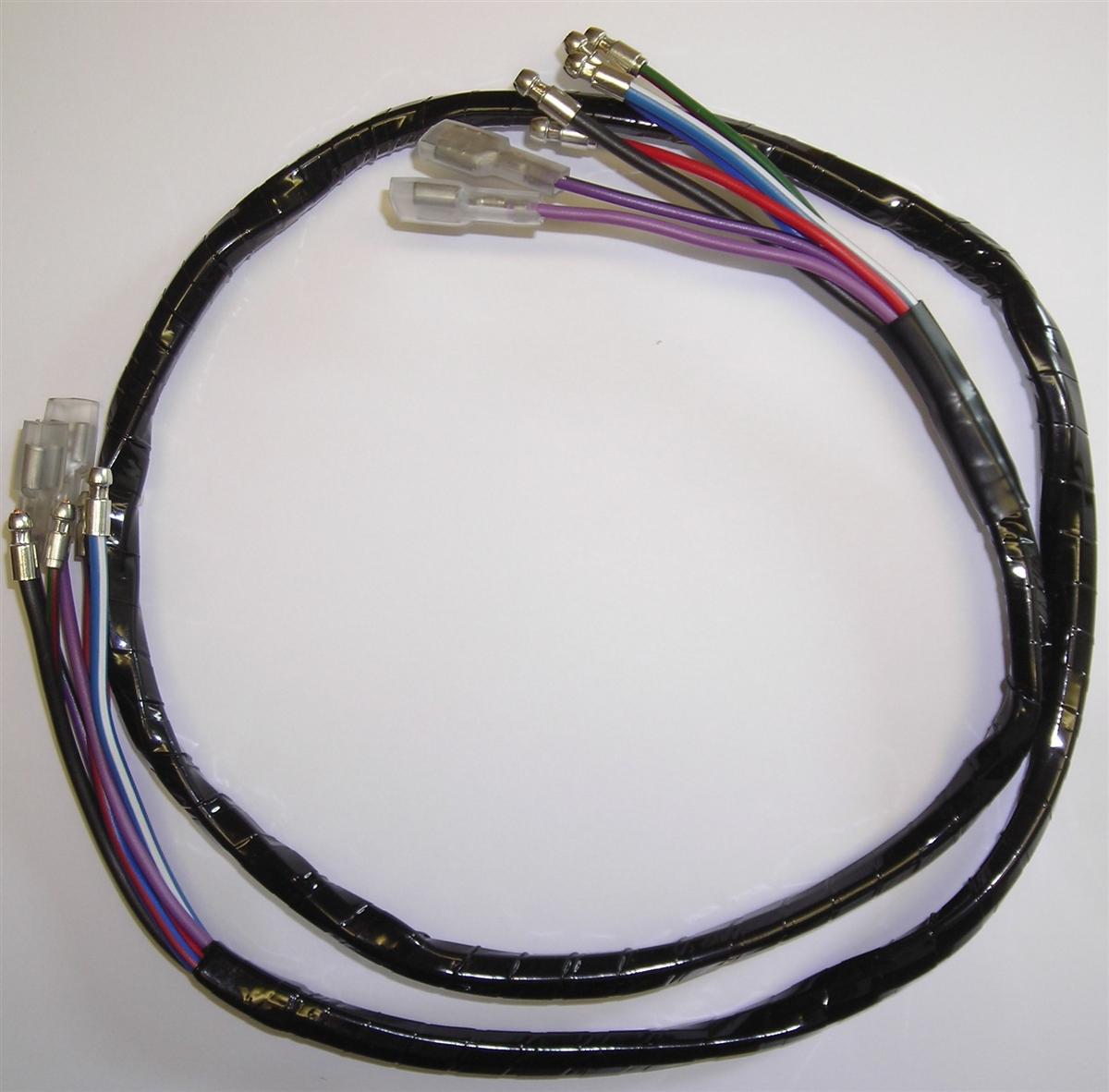 mgb headlight wiring harnes [ 1200 x 1182 Pixel ]
