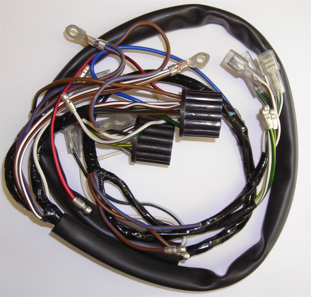 triumph motorcycle wiring harness rh britishwiring com motorcycle wiring harness connectors motorcycle wiring harness rebuilders [ 1200 x 1144 Pixel ]