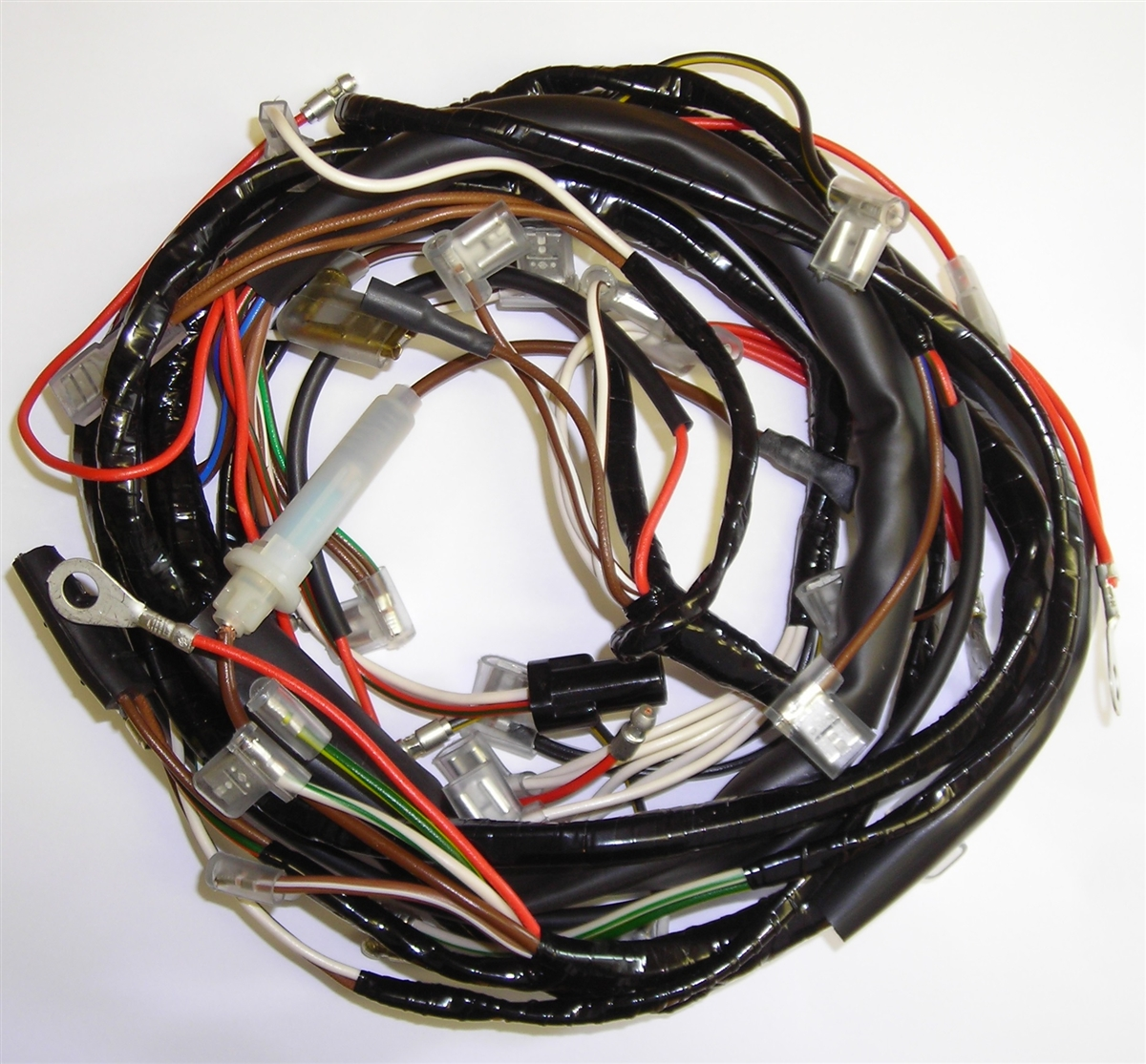 triumph t100 t120 tr6 motorcycle wiring harness 1969 triumph tr6 wiring harness [ 1200 x 1115 Pixel ]