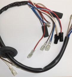 triumph x75 hurricane headlamp harness mc78hpp hurricane wiring harness [ 1200 x 1000 Pixel ]