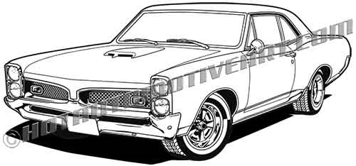 1967 pontiac gto clip art, buy two stock images, get one