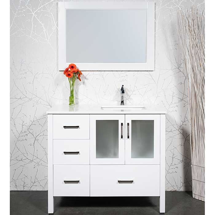 vanity style 2041 sink right