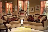 Marbella 2 Piece Living Room Set by Homey Design HD-3113