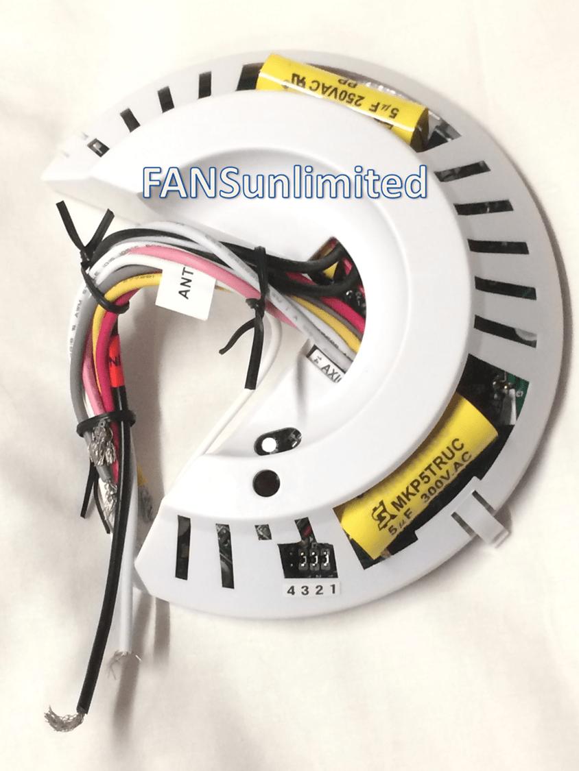 hight resolution of hunter fan 85483 01 genuine replacement receiver rh ceilingfanrepairparts com hunter fan switch wiring diagram hunter