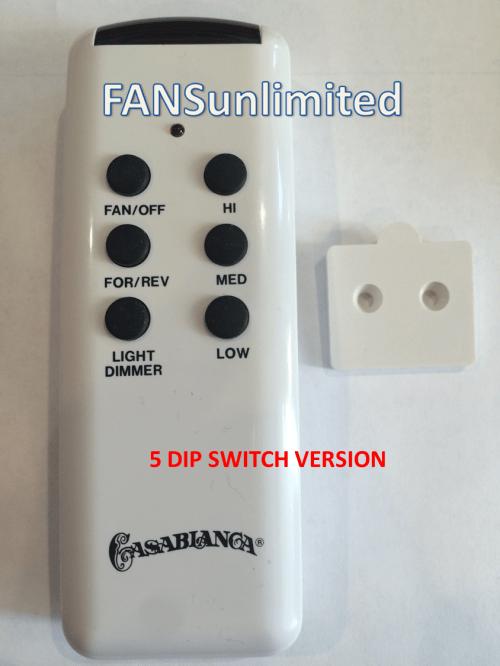 small resolution of casablanca fan chq8bt7053t 5 dip switch casablanca fan w 42 replacement remote