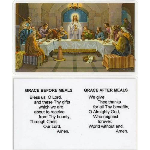 grace before and after