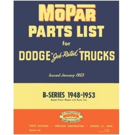 dodge truck parts diagram 2004 neon alternator wiring factory manual for 1948 1953