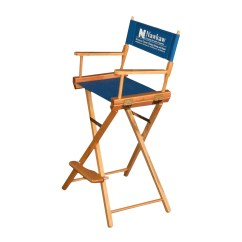 Director Chair Covers Canada Walmart Desk Chairs 30 S With Optional Vinyl Logo Trade Show