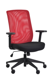 office chair red hammock stand bunnings chairs bar stools and lounge for sale at gene mesh back by eurotech seating