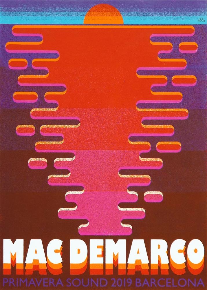 mac demarco concert poster